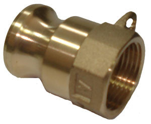 150mm Brass Camlock Fitting Part A