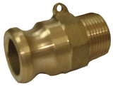 150mm Brass Camlock Fitting Part F