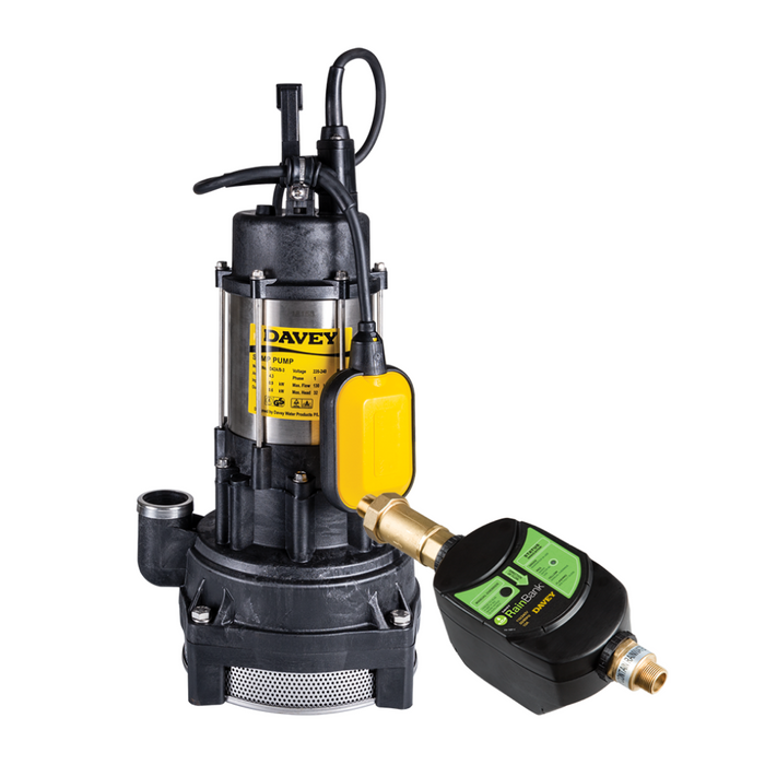 Davey RainBank with Submersible Pumps