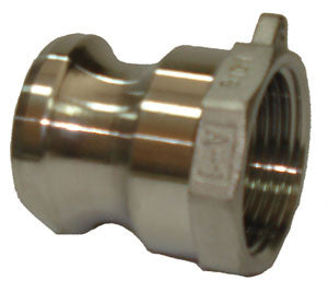 150mm Stainless Steel Camlock Fitting Part A