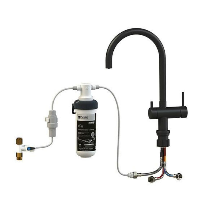 Puretec Z1-BL2 Under Sink Filter with Mixer Tap