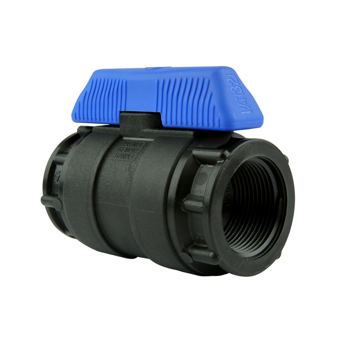 Philmac Plastic Ball Valves (Blue Handle)