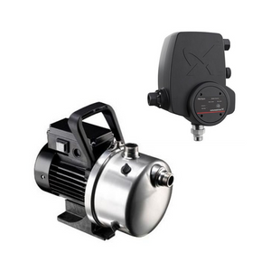 Grundfos JP Shallow Well Pump with PM Rain Controller