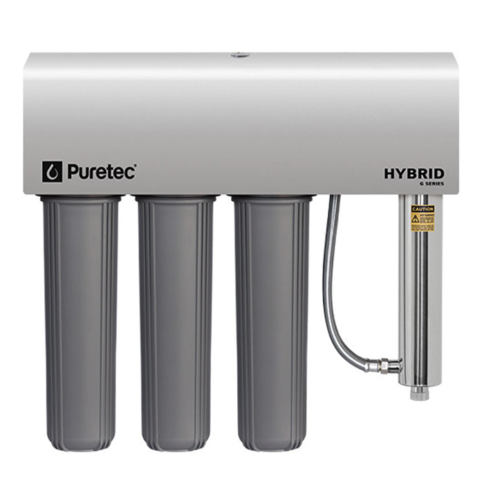Puretec Hybrid G13 Whole House UV and Filter System