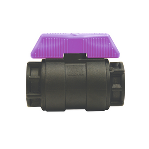 Philmac Poly Ball Valves (Lilac Handle)