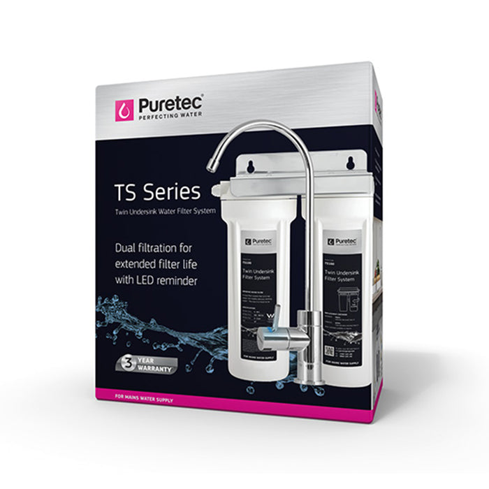 Puretec TS Series Twin Undersink Filtration