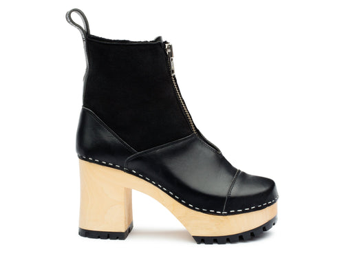 The Grunge Boot Shearling by Swedish Hasbeens