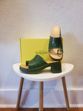 Open Toe Clog Sandal by Swedish Hasbeens
