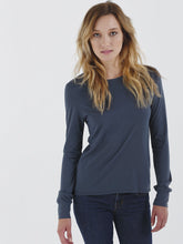 Long Sleeve Eva Crew Neck Tee
