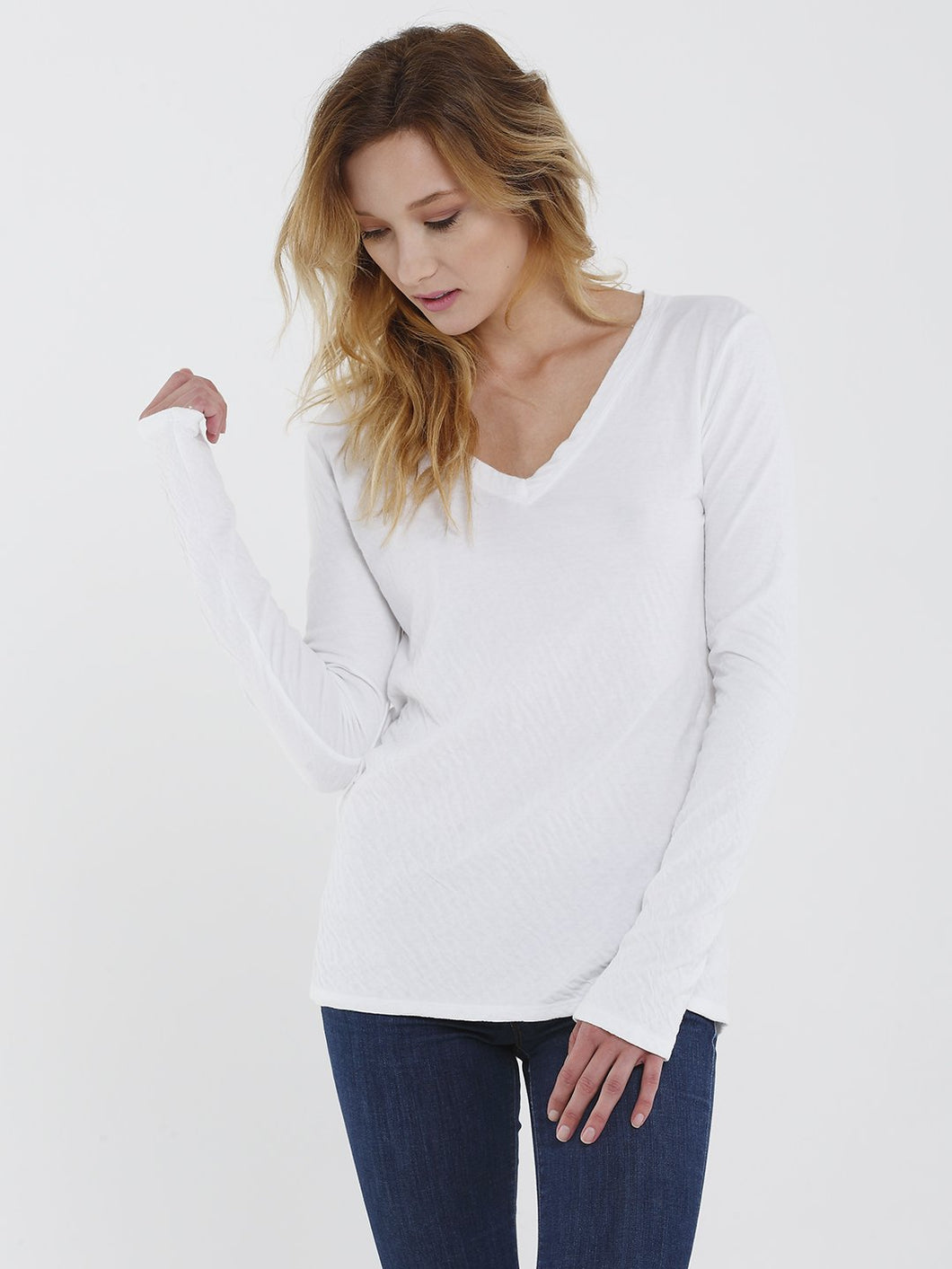 Layer Me Long Sleeve V-neck