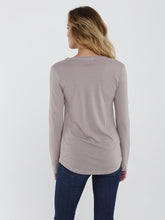 Long Sleeve Angie Vneck Tee