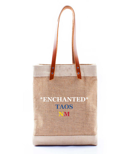 *Enchanted* Taos, NM Wine Tote