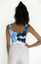 The Be Free Tank in One-of-a-Kind Hand Dyes by NUX Active