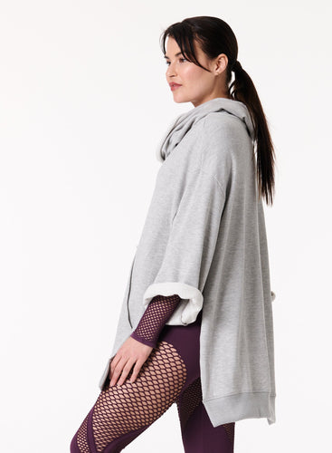 Insider Sweat Pullover Poncho by NUX Active