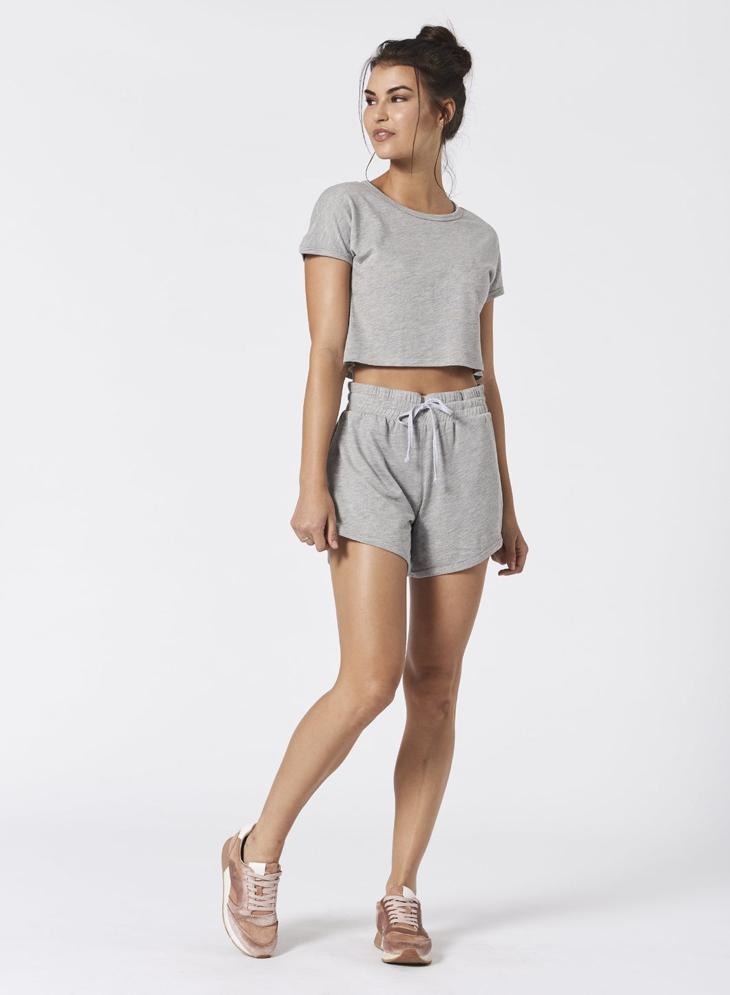 Some Like It Hot Cropped Tee by NUX Active