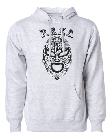 Raza Luchador Hoodie Grey Heather