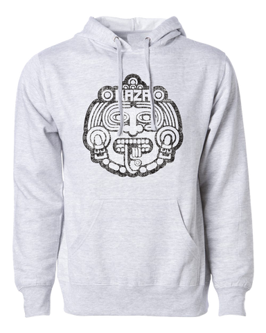 Raza Mask Hoodie Grey Heather