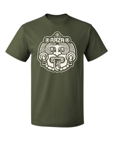 Raza Mask Tee Military Green