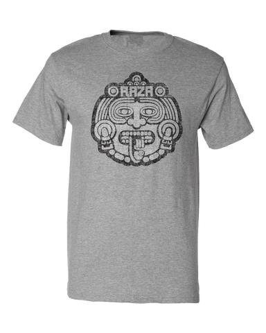 Raza MaskTee Grey Heather