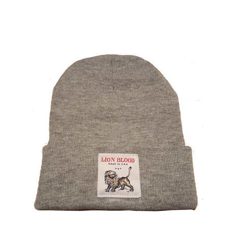 Cuff Beanie Heather Grey