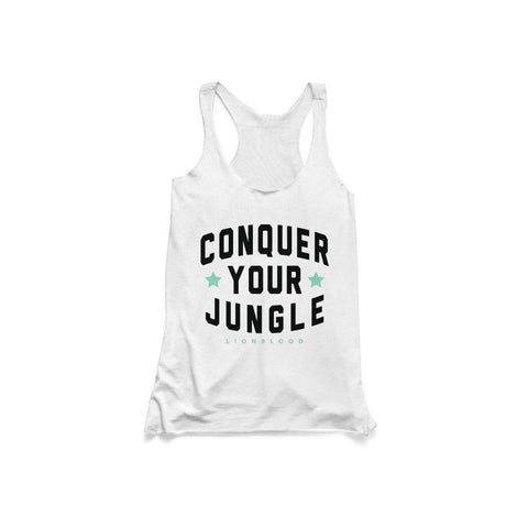 LADIES CONQUER YOUR JUNGLE TANK