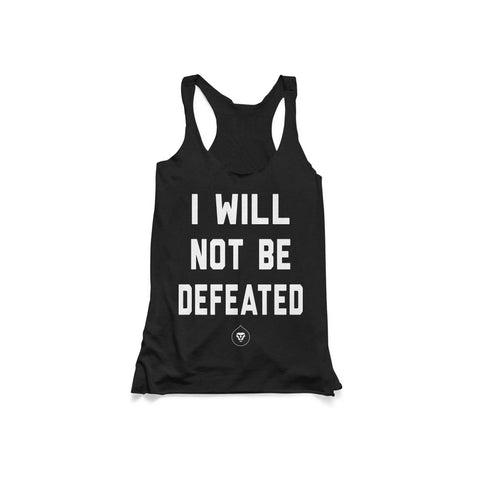 LADIES NOT BE DEFEATED TANK