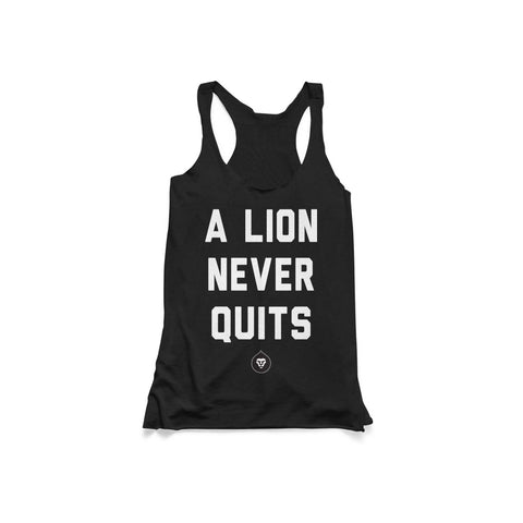 LADIES NEVER QUIT TANK