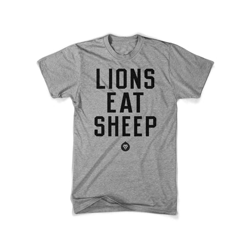 LIONS EAT SHEEP