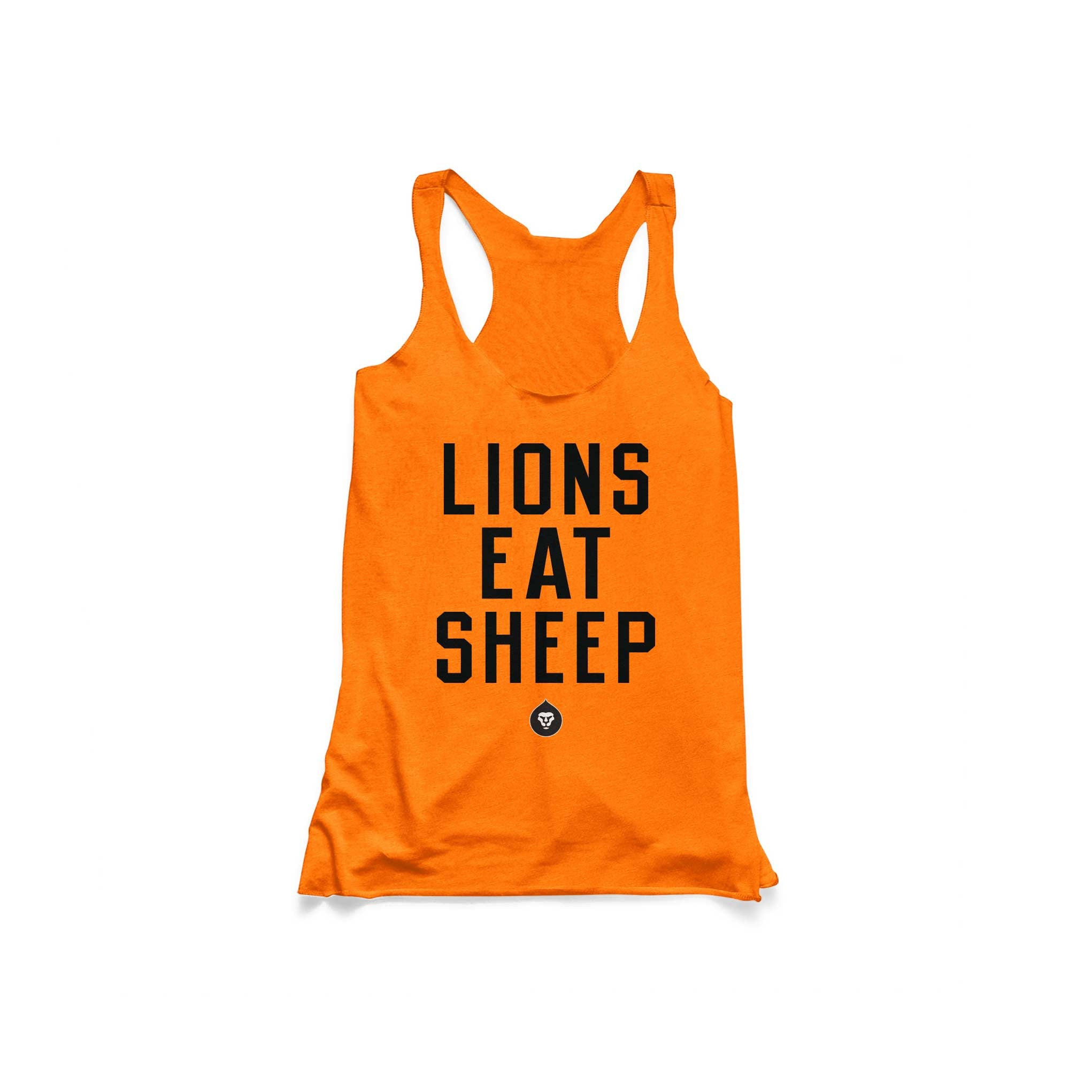 LADIES LIONS EAT SHEEP TANK