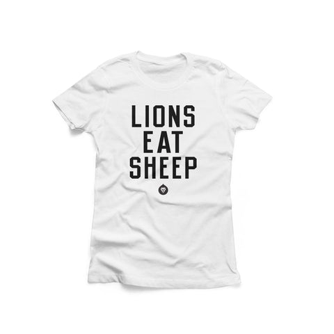 LADIES LIONS EAT SHEEP
