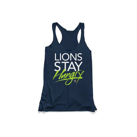 LADIES LIONS STAY HUNGRY TANK
