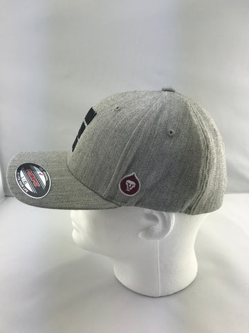 A Lion Never Quits Heather Grey Hat