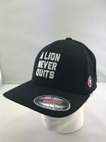 A Lion Never Quits Black Hat