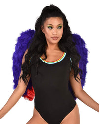 Rainbow Angel Wings-Front