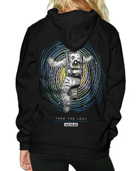 Take the Leap Pullover Hoodie-Female-Back