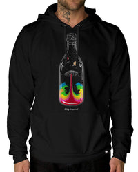 Taste of Space Pullover Hoodie-Male-Front