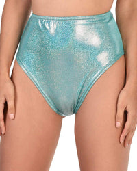Rolita Couture Neon Arcadia High Waist Shorts