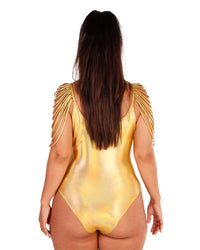 Golden Warrior Fringe Bodysuit