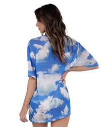 Head in the Clouds Oversized Tee-Back--Hannah---S