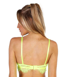 Neon Queen Lace Bralette-Back