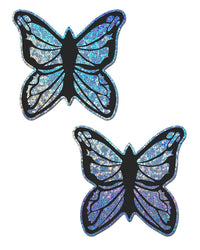 Pastease Glitter Baby Blue Butterfly