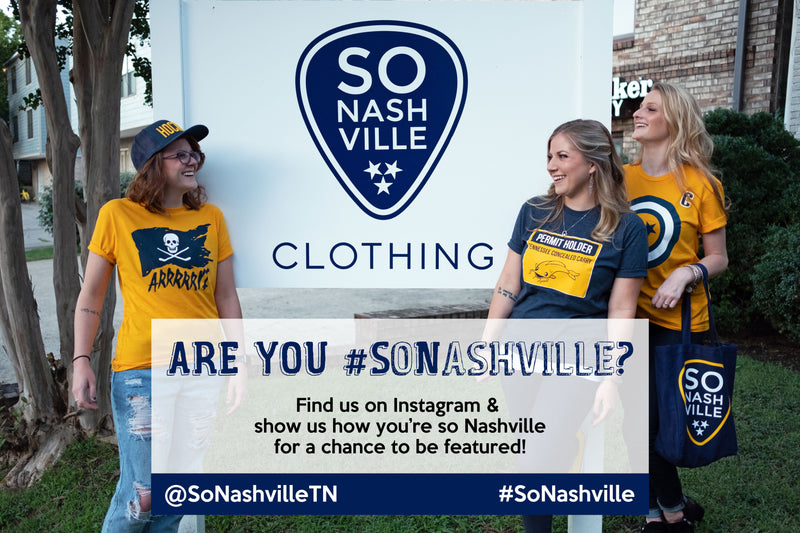 Let's Connect! - So Nashville Clothing