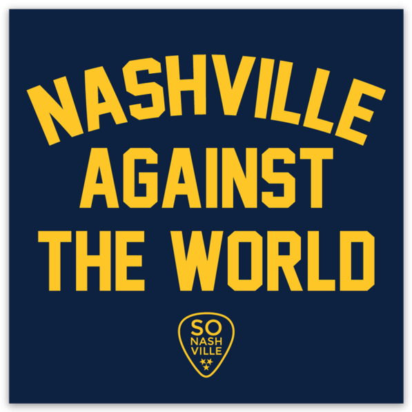 Nashville Against The World Magnet