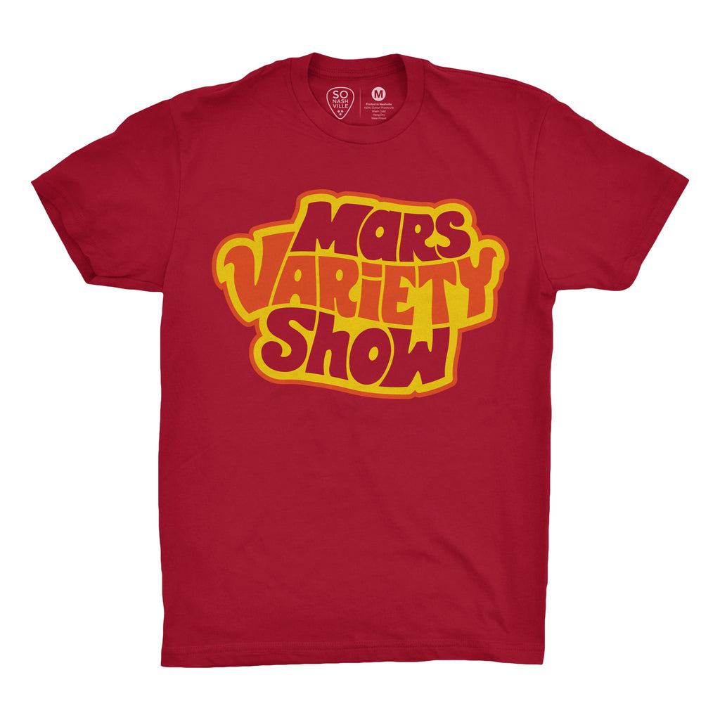The Mars Variety Show Red - So Nashville Clothing