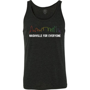 Nashville For Everyone Tank - So Nashville Clothing