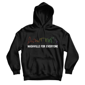 Nashville For Everyone Hoodie - So Nashville Clothing