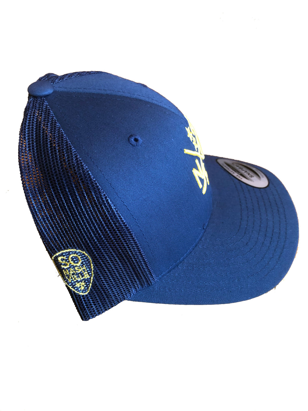 NSH X Hockey Sticks Hat Snapback (Navy/Navy)