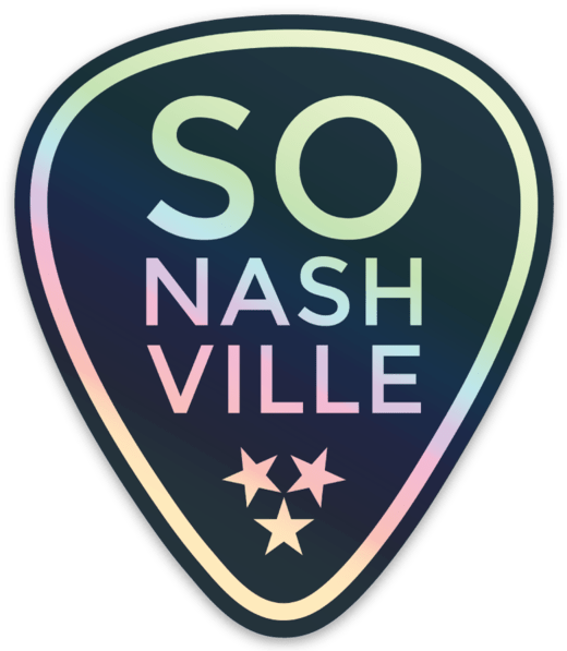 Holographic So Nashville™ Sticker - So Nashville Clothing