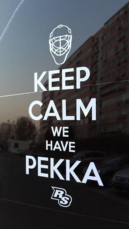 Keep Calm We Have Pekka Vinyl Sticker - So Nashville