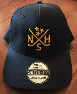 Nashville Crossed Hockey Sticks Hat Flexfit